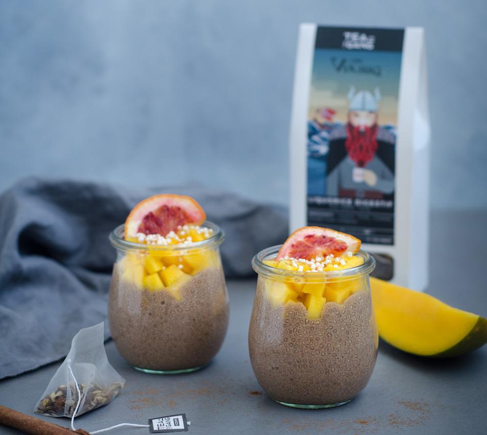 The Viking - Spicy Liquorice chia pudding