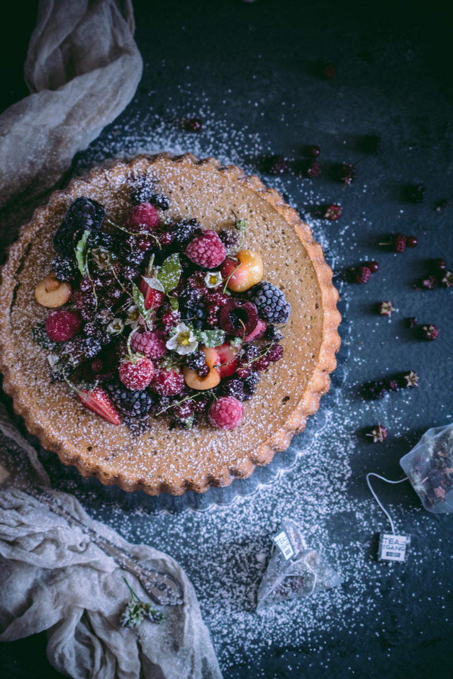 The Hipster - BERRY RICOTTA CAKE